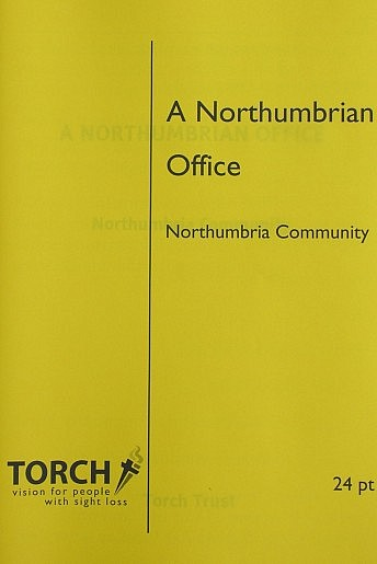 CDP Chapel Booklet giant print 24pt