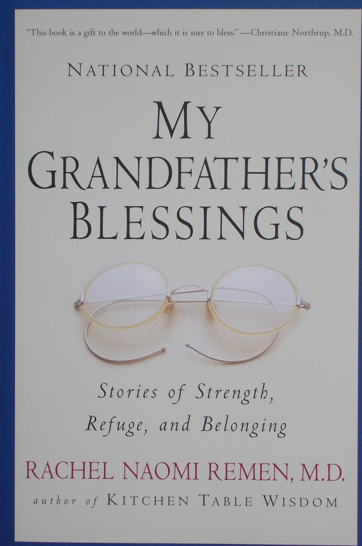 my grandfather's blessings - northumbria community