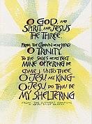 O God and Spirit